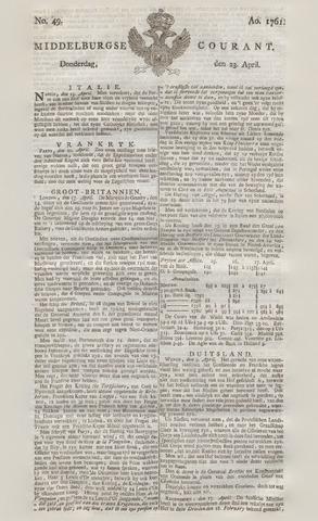 Middelburgsche Courant 1761-04-23
