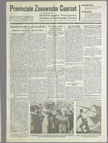 Provinciale Zeeuwse Courant 1940-08-09