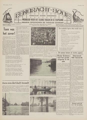 Eendrachtbode (1945-heden)/Mededeelingenblad voor het eiland Tholen (1944/45) 1969-10-30