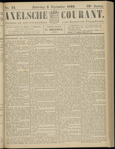 Axelsche Courant 1916-09-02