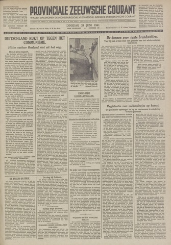 Provinciale Zeeuwse Courant 1941-06-24