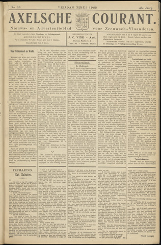 Axelsche Courant 1929-05-03