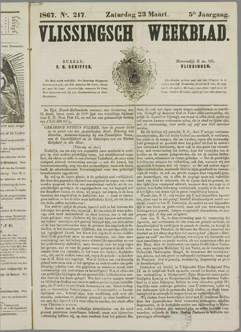 Vlissings Weekblad 1867-03-23