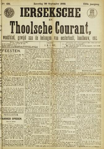 Ierseksche en Thoolsche Courant 1893-09-30