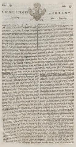 Middelburgsche Courant 1771-12-21