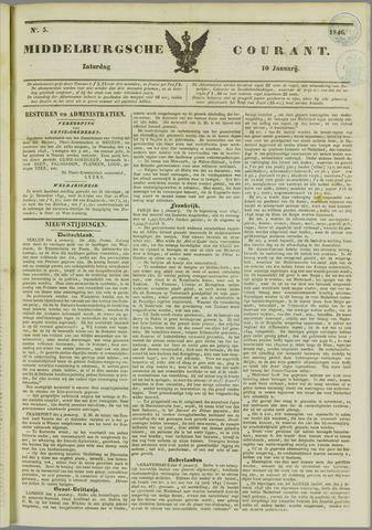 Middelburgsche Courant 1846-01-10