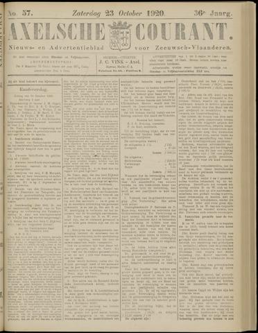 Axelsche Courant 1920-10-23