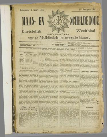 Maas- en Scheldebode 1886