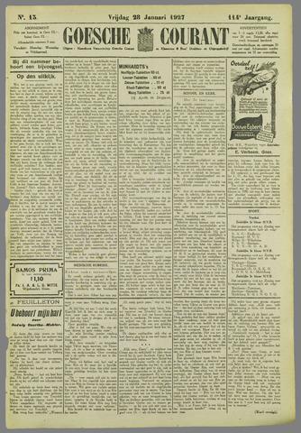 Goessche Courant 1927-01-28