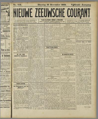 Nieuwe Zeeuwsche Courant 1919-12-16