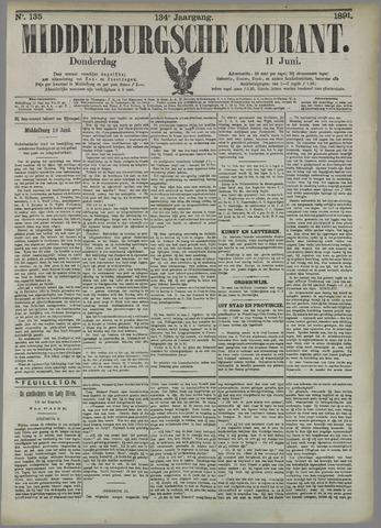 Middelburgsche Courant 1891-06-11