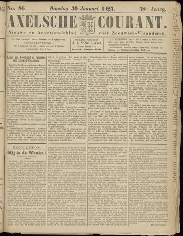 Axelsche Courant 1923-01-30