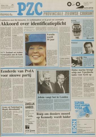 Provinciale Zeeuwse Courant 1992-01-31