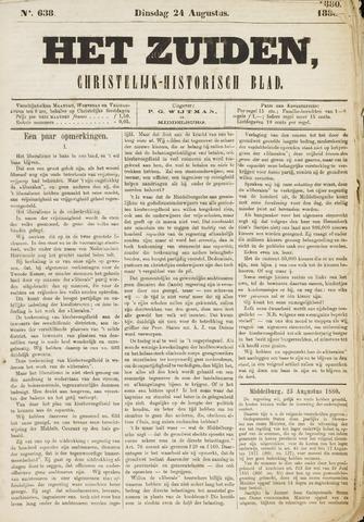 Het Zuiden, Christelijk-historisch blad 1880-08-24