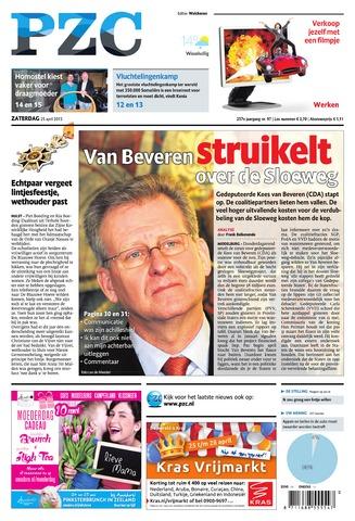 Provinciale Zeeuwse Courant 2015-04-25