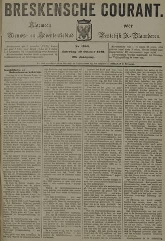 Breskensche Courant 1912-10-19