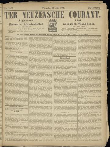 Ter Neuzensche Courant. Algemeen Nieuws- en Advertentieblad voor Zeeuwsch-Vlaanderen / Neuzensche Courant ... (idem) / (Algemeen) nieuws en advertentieblad voor Zeeuwsch-Vlaanderen 1889-07-31