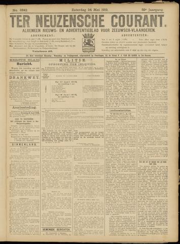 Ter Neuzensche Courant. Algemeen Nieuws- en Advertentieblad voor Zeeuwsch-Vlaanderen / Neuzensche Courant ... (idem) / (Algemeen) nieuws en advertentieblad voor Zeeuwsch-Vlaanderen 1919-05-24