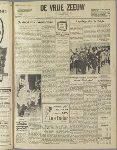 de Vrije Zeeuw 1961-02-18