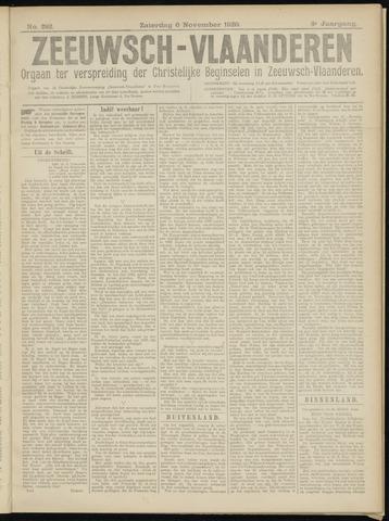 Luctor et Emergo. Antirevolutionair nieuws- en advertentieblad voor Zeeland / Zeeuwsch-Vlaanderen. Orgaan ter verspreiding van de christelijke beginselen in Zeeuwsch-Vlaanderen 1920-11-06