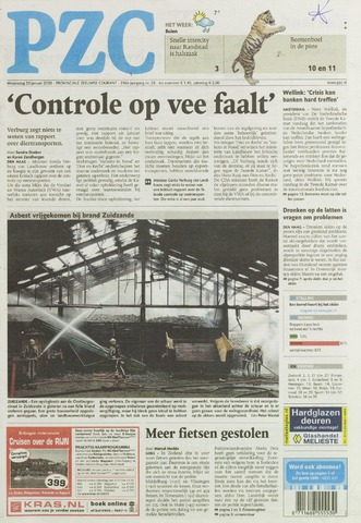 Provinciale Zeeuwse Courant 2008-01-30
