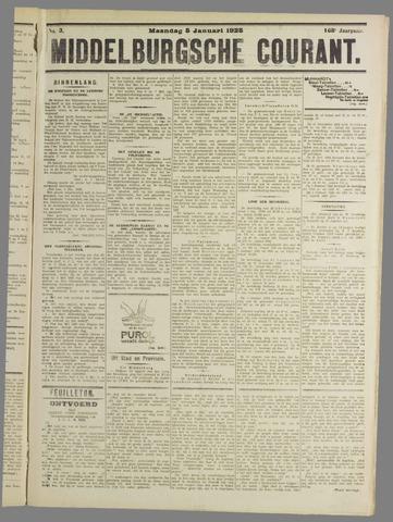 Middelburgsche Courant 1925-01-05