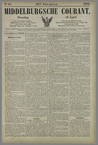 Middelburgsche Courant 1884-04-21