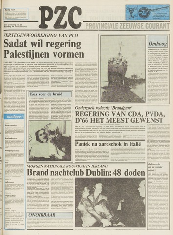 Provinciale Zeeuwse Courant 1981-02-16