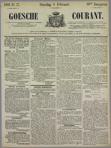 Goessche Courant 1881-02-08