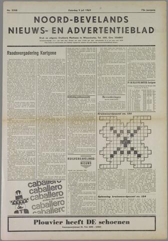 Noord-Bevelands Nieuws- en advertentieblad 1969-07-05