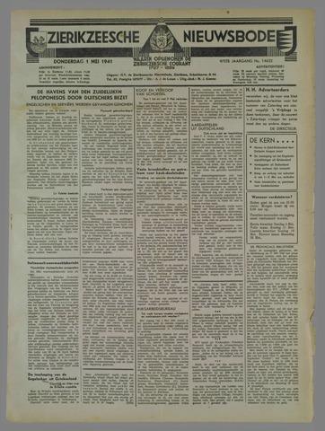 Zierikzeesche Nieuwsbode 1941-05-01