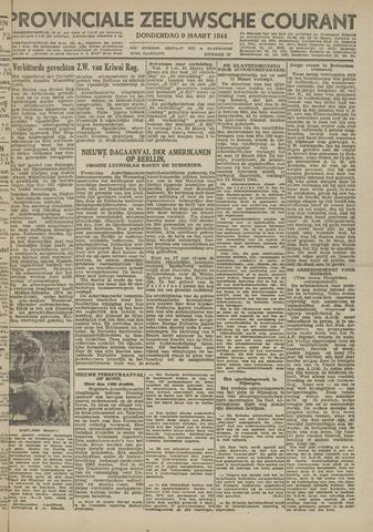 Provinciale Zeeuwse Courant 1944-03-09