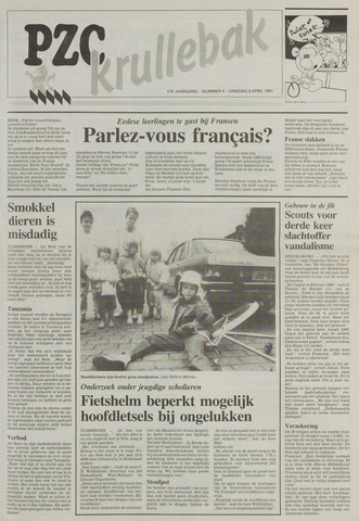 Provinciale Zeeuwse Courant katern Krullenbak (1981-1999) 1991-04-09