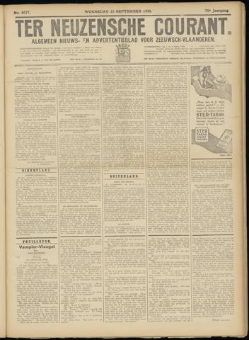 Ter Neuzensche Courant. Algemeen Nieuws- en Advertentieblad voor Zeeuwsch-Vlaanderen / Neuzensche Courant ... (idem) / (Algemeen) nieuws en advertentieblad voor Zeeuwsch-Vlaanderen 1930-09-10