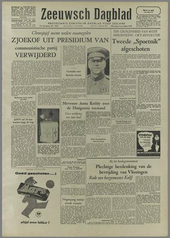 Zeeuwsch Dagblad 1957-11-04