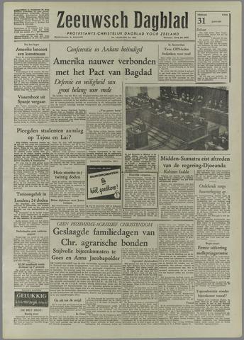 Zeeuwsch Dagblad 1958-01-31