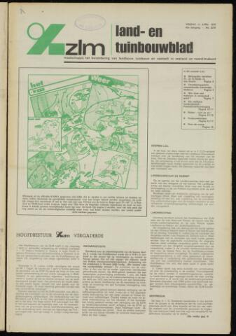 Zeeuwsch landbouwblad ... ZLM land- en tuinbouwblad 1975-04-11