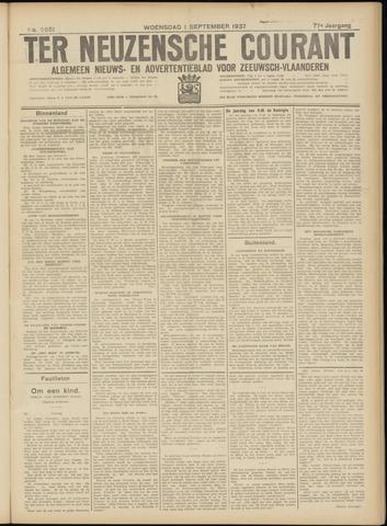 Ter Neuzensche Courant. Algemeen Nieuws- en Advertentieblad voor Zeeuwsch-Vlaanderen / Neuzensche Courant ... (idem) / (Algemeen) nieuws en advertentieblad voor Zeeuwsch-Vlaanderen 1937-09-01