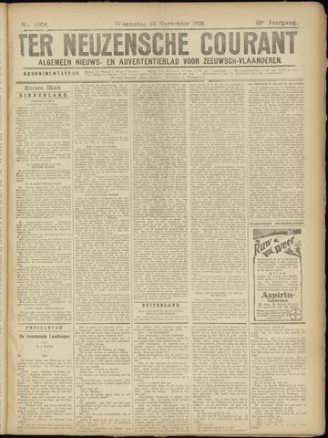 Ter Neuzensche Courant. Algemeen Nieuws- en Advertentieblad voor Zeeuwsch-Vlaanderen / Neuzensche Courant ... (idem) / (Algemeen) nieuws en advertentieblad voor Zeeuwsch-Vlaanderen 1928-11-28