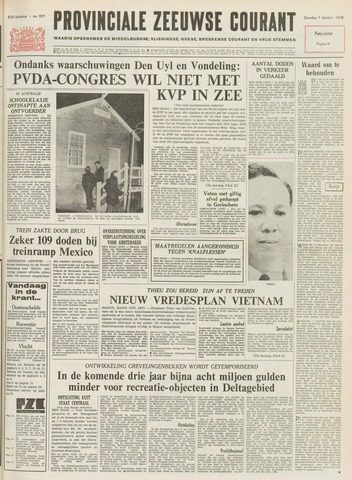 Provinciale Zeeuwse Courant 1972-10-07