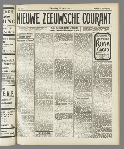 Nieuwe Zeeuwsche Courant 1912-06-29