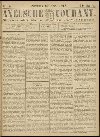Axelsche Courant 1918-04-20