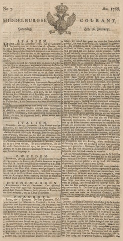Middelburgsche Courant 1768-01-16