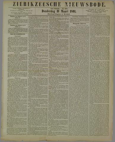 Zierikzeesche Nieuwsbode 1891-03-19