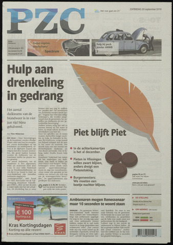 Provinciale Zeeuwse Courant 2014-09-20