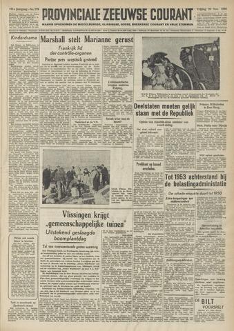Provinciale Zeeuwse Courant 1948-11-26