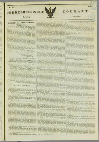 Middelburgsche Courant 1846-08-01