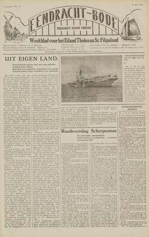 Eendrachtbode (1945-heden)/Mededeelingenblad voor het eiland Tholen (1944/45) 1949-07-15