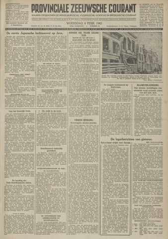 Provinciale Zeeuwse Courant 1942-02-04