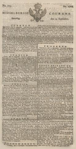 Middelburgsche Courant 1768-09-24